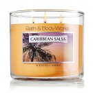 Bath and Body Works Slatkin & Co Caribbean Salsa Scented Candle Jar 14.5oz Metal
