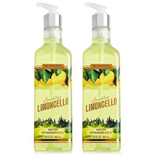 Bath & Body Works Limoncello Luxury Hand Soap 15.5oz Set of 2 -