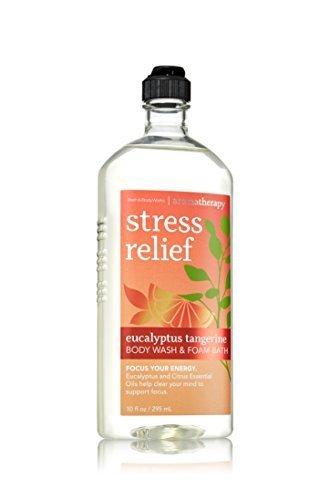 Bath & Body Works Aromatherapy Stress Relief Eucalyptus Tangerine Body Wash 10 O