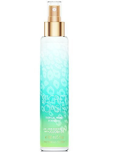 Victoria's Secret Secret Oasis 2-in-1 Hair and Body Oil 5 Oz