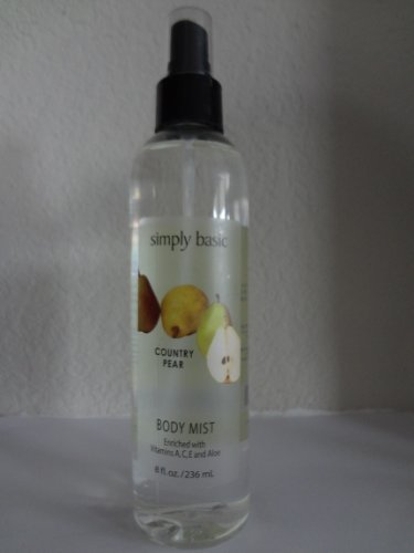 Simply Basic COUNTRY PEAR Body Mist 8oz/236ml