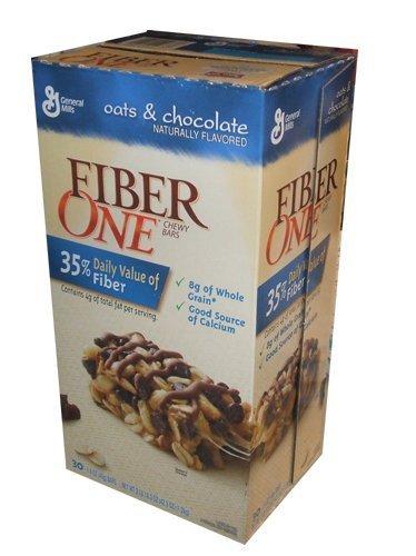 Fiber One Chewy Bars Oats & Chocolate 36- 1.4 Oz Bars