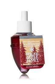 Bath & Body Works Wallflowers Spiced Apple Toddy Single Bulb x 3