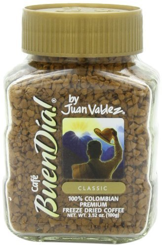 Buendia by Juan Valdez Classic 100% Colombian Freeze DriedCoffee,3.52 oz.(Pack o