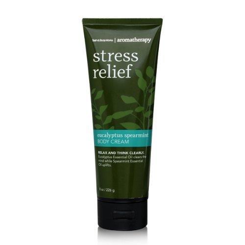 Bath & Body Works Aromatherapy Stress Relief Eucalyptus Spearmint 8.0 oz Body Cr