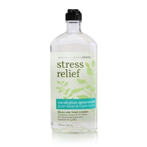 Bath Body Works Aromatherapy Stress Relief Eucalyptus Spearmint 10 oz Body Wash
