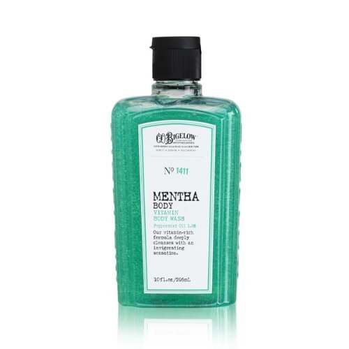 C.O. Bigelow Vitamin Body Wash No. 1411, Mentha with Peppermint Oil,10 ounces