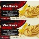 Walkers Orange Viennese Cookies - 5.3 oz