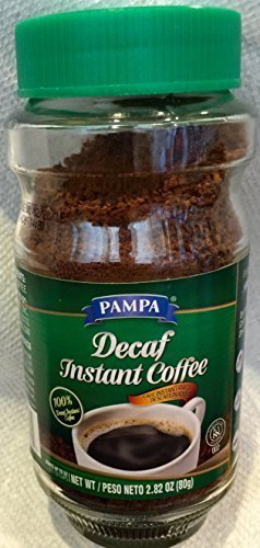 Pampa Decaf Instant Coffee, 2.82 oz