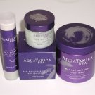 Bath & Body Works Aquatanica Spa Gift Set of 4 Products - Marine Mineral Body Wr