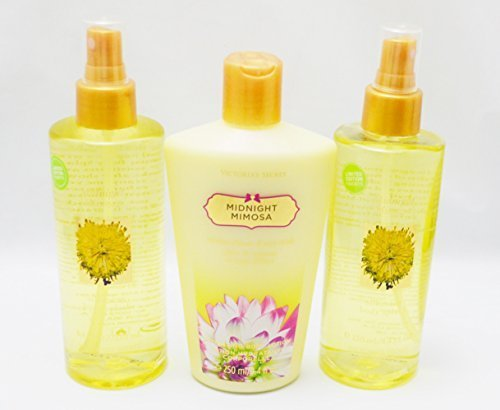 Victoria's Secret Garden MIDNIGHT MIMOSA Gift Set including Body Splash (2 bottl