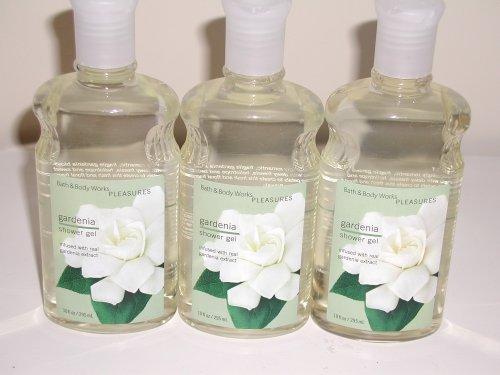 Bath & Body Works Pleasures Gardenia Shower Gel 10 Oz - Lot of 3