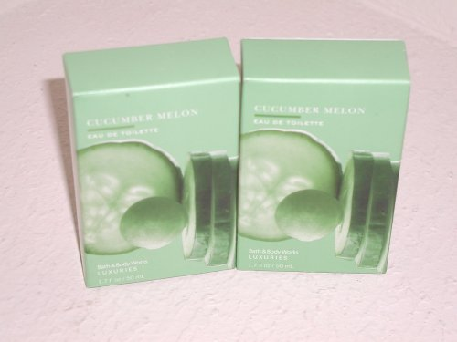 Bath & Body Works Signature Collection Cucumber Melon Eau De Toilette Lot of 2