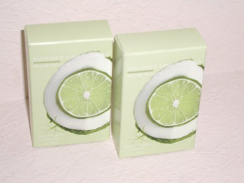 Bath & Body Works Signature Collection Coconut Lime Verbena Eau De Toilette Lot