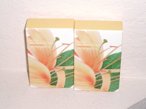 Bath & Body Works Signature Collection Wild Honeysuckle Eau De Toilette Lot of 2