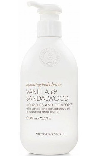 Victoria's Secret Vanilla & Sandalwood Naturally Hydrating Body Lotion 10.1 fl o