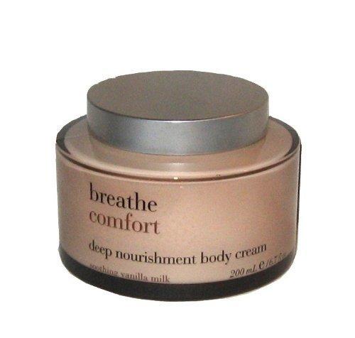 Bath & Body Works Breathe Comfort Deep Nourishment Body Cream ~ Soothing Vanilla