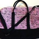 Victoria's Secret Pink/Black Getaway Bag