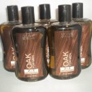 5 Bath Body Works Signature Collection OAK Hair Body Wash Men 10 oz/295mL New
