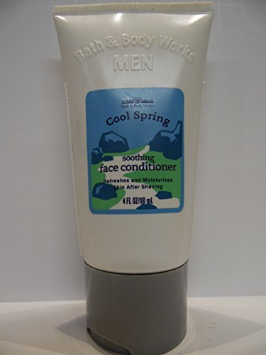 Bath & Body Works Men Cool Spring Soothing Face Conditioner