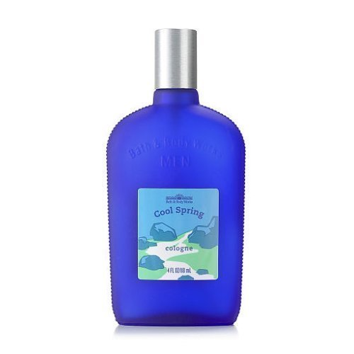 New Bath and Body Works Men's Cool Spring Cologne 4oz
