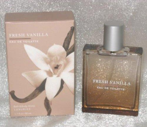 Bath & Body Works Fresh Vanilla EDT 1.7 Fl. Oz. New in Box