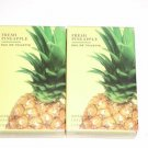 Bath & Body Works Luxuries Fresh Pineapple Eau De Toilette 1.7 fl oz - Lot of 2