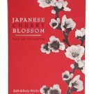 Bath & Body Works Japanese Cherry Blossom Luxuries Eau de Toilette 1.7 oz