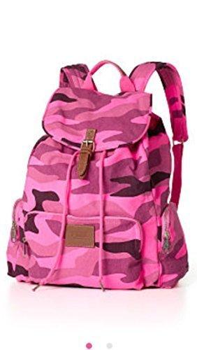 Victoria's Secret PINK School Backpack Book Bag Tote - Pink Camo