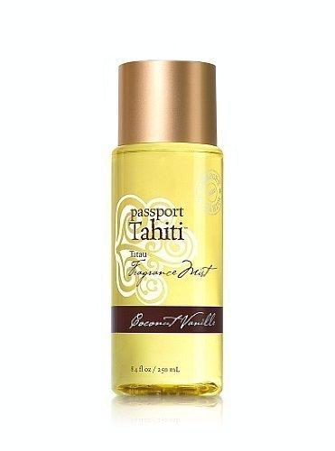 Bath and Body Works Passport Tahiti Tatau Fragrance Body Mist Coconut Vanille