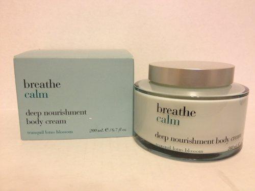 Bath & Body Works Breathe Calm Deep Nourishment Body Cream - Tranquil Lotus Blos