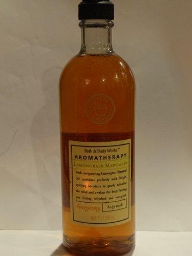 Bath & Body Works Aromatherapy Lemongrass Mandarin Body Wash 10 Fl Oz
