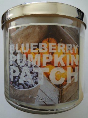 Bath & Body Works Slatkin & Co. BLUEBERRY PUMPKIN PATCH Scented Candle 14.5 oz/