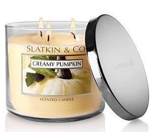 Bath and Body Works Slatkin & Co Creamy Pumpkin Candle 14.5oz