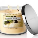 Bath and Body Works Slatkin & Co Creamy Pumpkin Candle 14.5oz