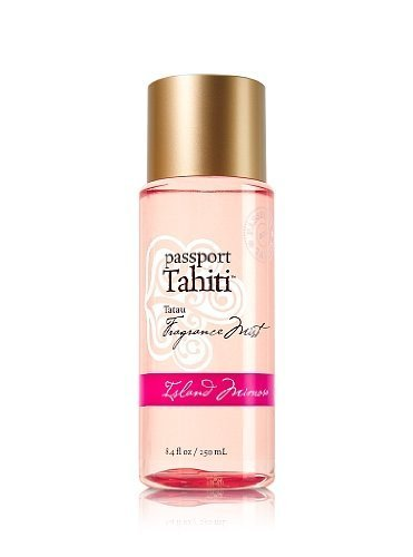 Bath and Body Works Passport Tahiti Tatau Fragrance Body Mist Island Mimosa