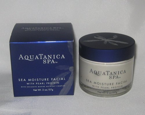 Bath & Body Works Aquatanica Spa Sea Moisture Facial With Pearl Protein With Exc