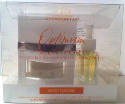 Aromatherapy Scentport Fragrance Diffuser Set & Bright Blossoms Optimism Refill