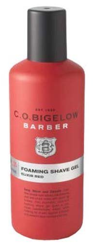 Bath & Body Works C.O. Bigelow Barber No.1205 Elixir Red Foaming Shave Gel 4.2 f