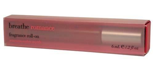 Bath & Body Works Breathe Romance Sensuous Amber Myrrh Fragrance Roll On 0.2 fl