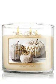 White Barn 14.5 Oz. 3-wick Candle Creamy Pumpkin
