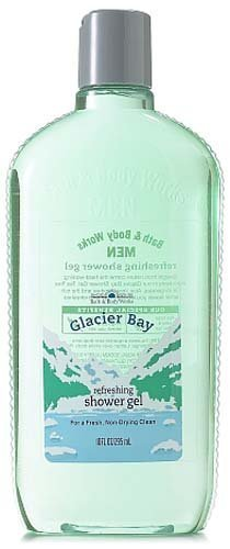 Bath & Body Works Men Glacier Bay Refreshing Shower Gel 10 fl oz (295 ml)