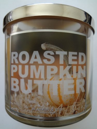 Bath & Body Works Slatkin & Co. ROASTED PUMPKIN BUTTER Scented Candle 14.5oz/411