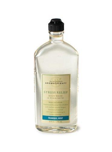 TRANQUIL MINT Bath Body Works Aromatherapy BODY WASH lot of 1 new