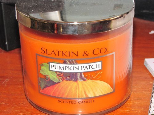 Slatkin & Co. Pumpkin Patch Scented Candle 3-Wick 14.5 oz Bath & Body Works