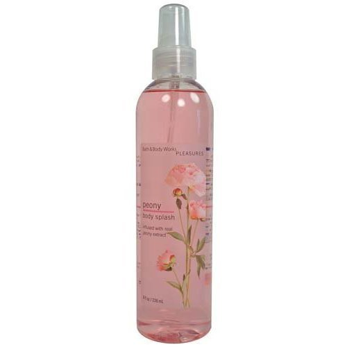 Bath & Body Works Pleasures Peony Body Splash 8 fl oz (236 ml)