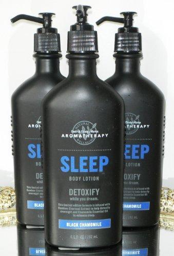 Bath & Body Works Aromatherapy Sleep Detoxify - Black Chamomile Body Lotion - Lo
