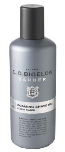 Bath & Body Works C.O. Bigelow Barber No.1202 Elixir Black Foaming Shave Gel 4.2