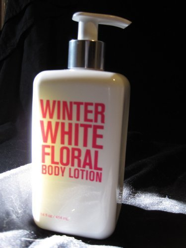 Bath and Body Works Winter White Floral Body Lotion, 14 fl oz