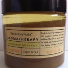 Bath & Body Works Aromatherapy Lemongrass Mandarin Sugar Scrub 16 Oz
